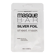 Peel Off Facial Sheet Mask Silver Foil - 1 Count by Masque Bar