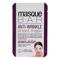 Anti-Wrinkle Facial Sheet Mask - 1 Count by Masque Bar