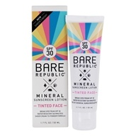 Mineral Tinted Face Sunscreen Lotion Broad Spectrum Unscented 30 SPF - 1.7 fl. oz.