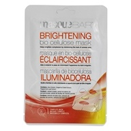 Brightening Bio Cellulose Facial Sheet Mask - 1 Count by Masque Bar