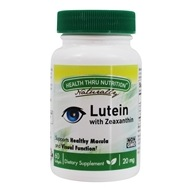 Luteína con zeaxantina 20 mg . - 60 Softgels by Health Thru Nutrition