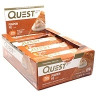 Kotak Quest Bar Protein Bars Pie Labu - 12 Bars by Quest Nutrition