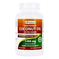 Coconut Oil High Potency Extra Virgin 1300 mg. - 90 Softgels by Best Naturals