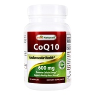 CoQ10 Cardiovascular Health Formula 600 mg. - 60 Capsules by Best Naturals