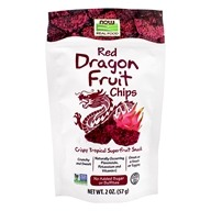 Red Dragon Fruit Chips - 2 oz. by NOW Foods