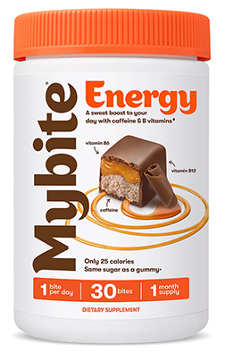 Energy Boost Milk Chocolatey - 60 Bites by MyBite Vitamins