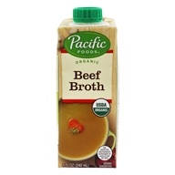 Organic Beef Broth - 8 fl. oz. by Pacific Foods