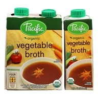 Organic Vegetable Broth - 4 Count by Pacific Foods