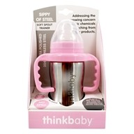 Sippy of Steel Cup Soft Spout Trainer Stage C 9 to 36 months Pink - 9 oz.