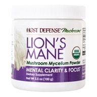 Lion's Mane Mental Clarity & Focus Mushroom Mycelium Powder - 3.5 oz.