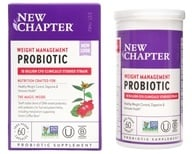 Probiotic de gestão de peso - 60 Vegan Capsules by New Chapter