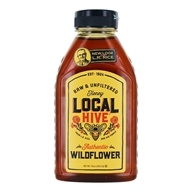 Raw & Unfiltered Authentic Honey Wildflower - 16 oz. by Local Hive Honey