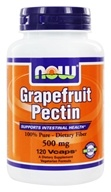 NOW Foods - Grapefruit Pectin 500 mg. - 120 Vegetarian Capsules (733739065155)