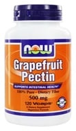 Image of NOW Foods - Grapefruit Pectin 500 mg. - 120 Vegetarian Capsules