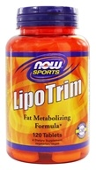 Image of NOW Foods - Lipo Trim High Potency Fat Metabolizing Formula - 120 Tablets