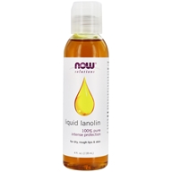 NOW Foods - Liquid Lanolin 100% Pure - 4 oz. (733739077301)