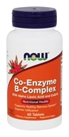 NOW Foods - Co-Enzyme B Complex with Alpha Lipoic Acid & CoQ10 - Enteric Coated - 60 Tablets