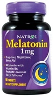 Natrol - Melatonin 1 mg. - 90 Tablets