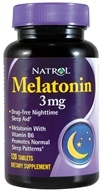 Natrol - Melatonin 3 mg. - 120 Tablets