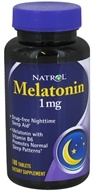 Image of Natrol - Melatonin 1 mg. - 180 Tablets