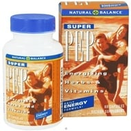 Image of Natural Balance - Super Pep Daily Energy Formula - 60 Capsules