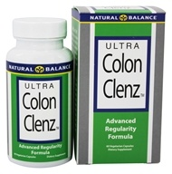 Natural Balance - Ultra Colon Clenz Advanced Regularity Formula - 60 Vegetarian Capsules
