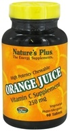 Image of Nature's Plus - Orange Juice Chewable Vitamin C 250 mg. - 90 Chewable Tablets