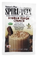 Nature's Plus - Spiru-Tein High Protein Energy Meal - 1 Packet - Double Fudge Crunch - 1.2 oz. (097467459298)
