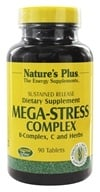Nature's Plus - Mega-Stress Complex Sustained Release - 90 Tablets - $27.26