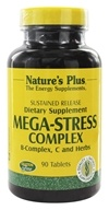 Image of Nature's Plus - Mega-Stress Complex Sustained Release - 90 Tablets