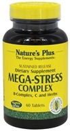 Nature's Plus - Mega-Stress Complex Sustained Release - 60 Tablets