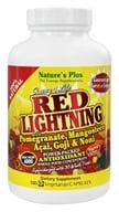 Image of Nature's Plus - Source of Life Red Lightning Power Packed Antioxidant - 180 Vegetarian Capsules