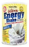 Image of Nature's Plus - Ultra Energy Shake Invigorating Vanilla Flavor - 0.8 lbs.