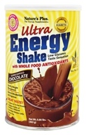 Image of Nature's Plus - Ultra Energy Shake Supercharged Chocolate Flavor - 0.8 lbs.