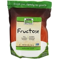 NOW Foods - Fructose Fruit Sugar - 3 lbs. by NOW Foods