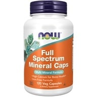 NOW Foods - Full Spectrum Minerals Multi-Mineral Formula - 120 Capsules - $8.55