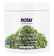 NOW Foods - European Clay Powder - 6 oz. (733739081506)
