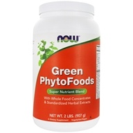 Image of NOW Foods - Green PhytoFoods - 2 lbs.