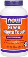 NOW Foods - Green Phytofoods Powder - 10 oz.