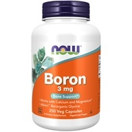 NOW Foods - Boron 3 mg. - 250 Capsules - $8.87