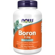 NOW Foods - Boron 3 mg. - 250 Capsules by NOW Foods