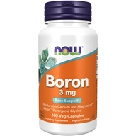 NOW Foods - Boron 3 mg. - 100 Capsules (733739014108)
