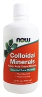 NOW Foods - Colloidal Minerals Original - 32 oz.