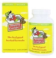 Natural Balance - Happy Camper - 120 Capsules, from category: Herbs