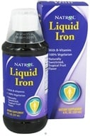 Natrol - Liquid Iron - 8 oz., from category: Vitamins & Minerals