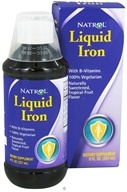 Natrol - Liquid Iron - 8 oz. by Natrol