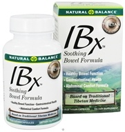 Image of Natural Balance - IBX Soothing Bowel Formula - 60 Vegetarian Capsules CLEARANCE PRICED