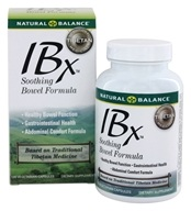 Natural Balance - IBX Soothing Bowel Formula - 120 Vegetarian Capsules, from category: Nutritional Supplements