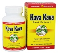 Kava Kava Root Extract 70 mg. - 60 Vegetarian Capsules