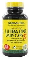 Nature's Plus - Ultra One Daily Caps Iron-Free - 90 Vegetarian Capsules by Nature's Plus